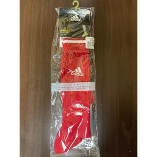 アディダス(adidas)のアディダス adidas 赤 football 22〜24㎝ フットボール(その他)