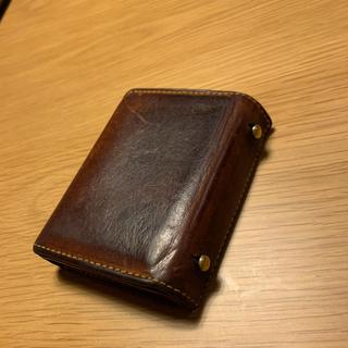 エムピウ(m+)のエムピウ ミッレフォッリエ 茶(折り財布)