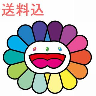 Multicolor Double Face White 村上隆 版画 お花(版画)