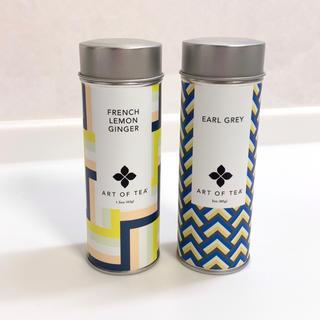 ディーンアンドデルーカ(DEAN & DELUCA)のART OF TEA💛ティー缶2個セット(茶)