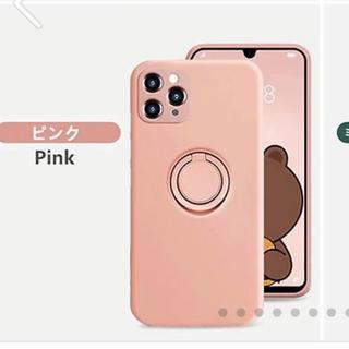 アイフォン iPhoneケース XS用 ピンク(iPhoneケース)
