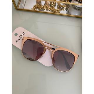 アルド(ALDO)のALDO ピンクゴールドサングラス(サングラス/メガネ)