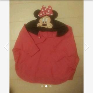 ディズニー(Disney)のミニーちゃんのレインポンチョ レインコート(レインコート)