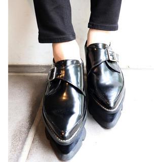 ムルーア(MURUA)のMURUA ベロアソールローファー(ローファー/革靴)