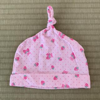 エニィファム(anyFAM)のベビー帽子 サイズ70(44~46)(帽子)