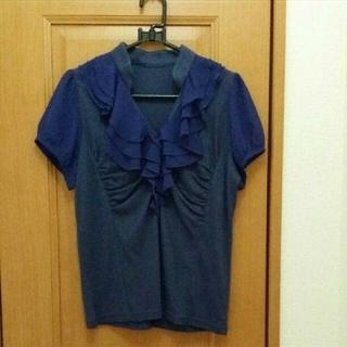 フェリシモ(FELISSIMO)のカットソー   半袖ブラウス(カットソー(半袖/袖なし))