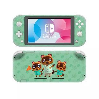 ニンテンドースイッチ(Nintendo Switch)のNintendo Switch lite スキンシール ステッカー どうぶつの森(携帯用ゲーム機本体)