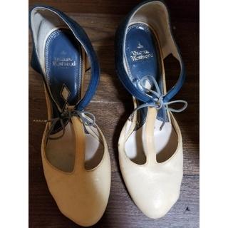 ヴィヴィアンウエストウッド(Vivienne Westwood)のVivienneWestwood 今月中出品 猫脚パンプスリボン付き(ハイヒール/パンプス)