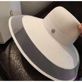 エイミーイストワール(eimy istoire)の新品👒スプリングデザイナーファッション帽💍(麦わら帽子/ストローハット)