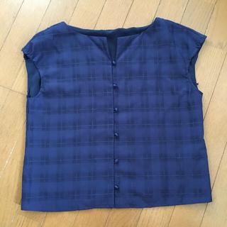 クチュールブローチ(Couture Brooch)のクチュールブローチ ブラウス ノースリーブ テチチ ロペピクニック GU 好にも(シャツ/ブラウス(半袖/袖なし))