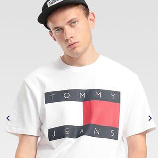 トミーヒルフィガー(TOMMY HILFIGER)のtommy jeans big flag tee ★XL(Tシャツ/カットソー(半袖/袖なし))