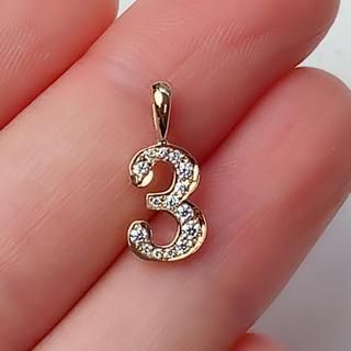 アイファニー(EYEFUNNY)のアイファニー ペンダントトップ EYEFUNNY No.3 ダイヤモンド 750(ネックレス)