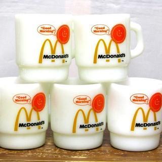Fire-King - @ビンテージ Fire-King ファイヤーキング McDonald's マクド