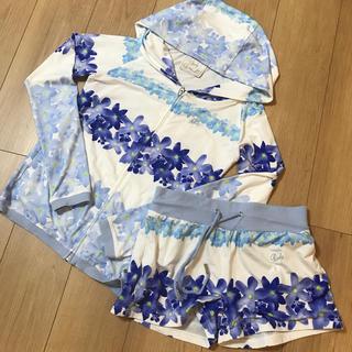 レディー(Rady)のレディ セットアップ ブルー 花柄(ルームウェア)