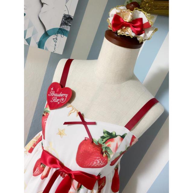 strawberry star ワンピース 3点セット レディースのワンピース(ひざ丈ワンピース)の商品写真