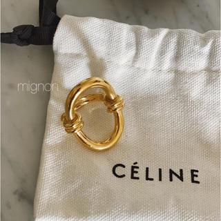 フィリップオーディベール(Philippe Audibert)のoldceline ring & rapis ring 《gold》(リング(指輪))