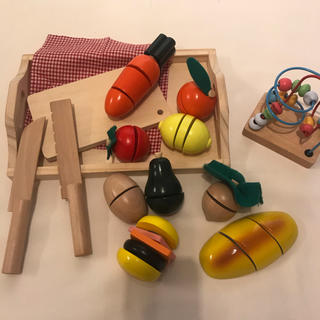 アクタス(ACTUS)のACTUS おままごとセット& joytoy ルーピング(知育玩具)