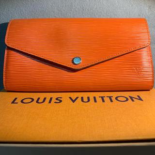ルイヴィトン(LOUIS VUITTON)のルイヴィトン エピ 長財布 ポルトフォイユ サラ 新型(財布)