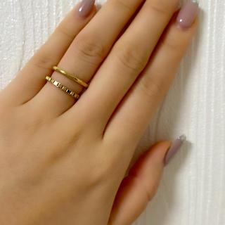 エテ(ete)のJouete ジェンダレス レイヤードチェーンリング(リング(指輪))
