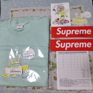 シュプリーム(Supreme)の【S】 supreme Daniel Johnston Frog Tee(Tシャツ/カットソー(半袖/袖なし))