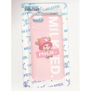 ミルクフェド(MILKFED.)のiPhoneケース カバー milkfed. ワンピース チョッパー(iPhoneケース)