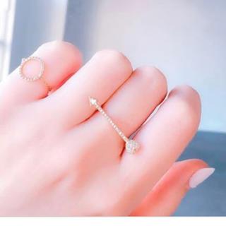 アーカー(AHKAH)のAHKAH マーメイドラブアローリング(リング(指輪))
