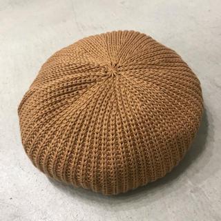 カシラ(CA4LA)のLEUCHTFEUER ロイフトフォイヤー HOOGE ニットベレー帽 帽子(ハンチング/ベレー帽)