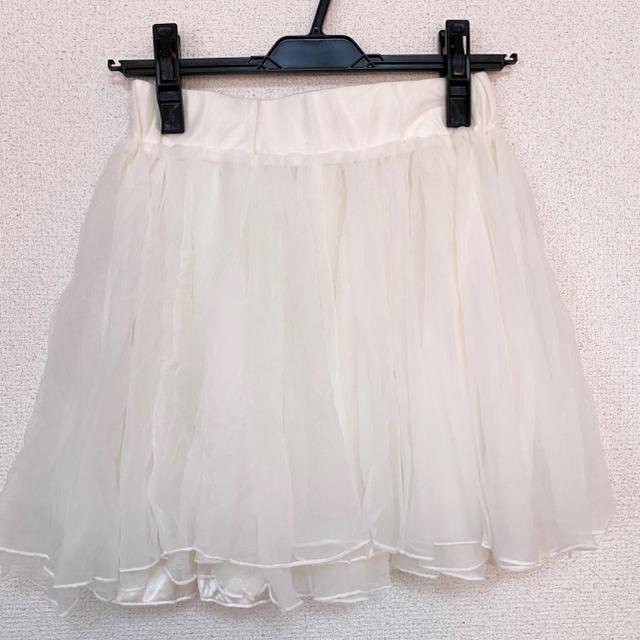 one after another NICE CLAUP(ワンアフターアナザーナイスクラップ)のNICE CLAUP チュールスカート レディースのスカート(ミニスカート)の商品写真