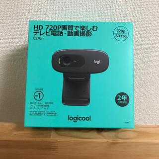 エレコム(ELECOM)のLogicool ロジクール webカメラ C270n ブラック HD 720P(その他)