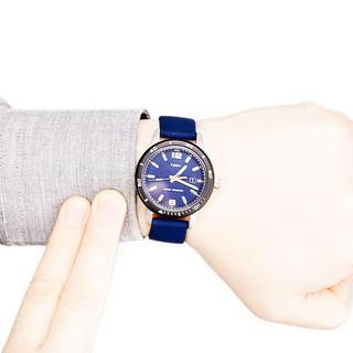 タイメックス(TIMEX)のTIMEX タイメックス 腕時計 ブルー(腕時計(デジタル))