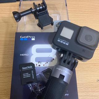 GoPro - GoPro HERO 8 保護シール、延長スティック、SD付属