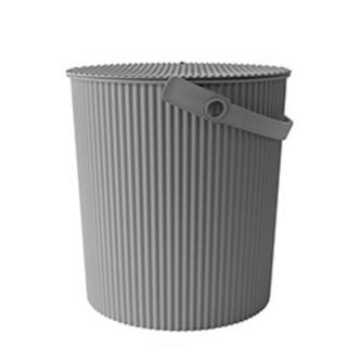 【新品未使用】オムニウッティ LLサイズ 20L  グレー(紙おむつ用ゴミ箱)