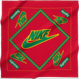 シュプリーム(Supreme)のSupreme Nike Bandana Red シュプリーム ナイキ バンダナ(バンダナ/スカーフ)