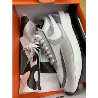 ナイキ(NIKE)のナイキ×サカイ Nike x sacai LDWaffle White 28.0(スニーカー)