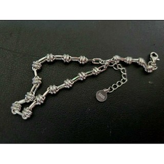アンダーカバー(UNDERCOVER)のsilver925 barbed wire bracelet 有刺鉄線(ブレスレット)