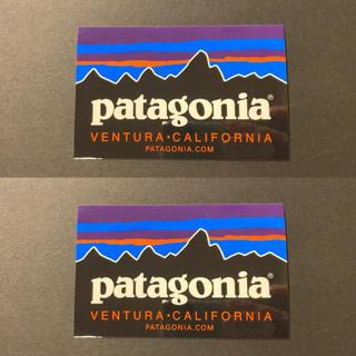 パタゴニア(patagonia)のパタゴニア Patagonia  ステッカー 正規品 2枚セット(ステッカー)