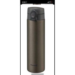 真空2重魔法瓶 ステンレスボトル 0.5 L 保温保冷両用 断熱 ブラウン(トランプ/UNO)