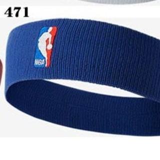 ナイキ(NIKE)の新品 NIKE NBA プロ使用モデル headband royal blue(その他)