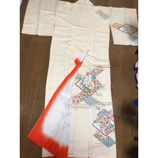 三越 - クリーニング済 着物 三越 たとう紙 古布 はぎれ リメイク 裁縫