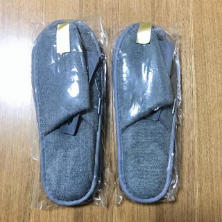 ジャル(ニホンコウクウ)(JAL(日本航空))の新品未開封 JAL ビジネスクラス スリッパ 2個セット(旅行用品)