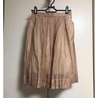 マカフィー(MACPHEE)の最終価格 TOMORROWLAND MACPHEE / スカート マカフィー(ひざ丈スカート)