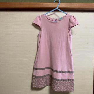 トッカ(TOCCA)のTOCCA 女の子 ワンピース 120 ピンク(ワンピース)