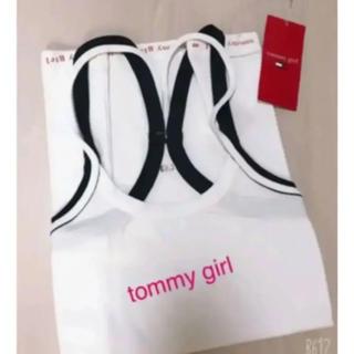 トミーガール(tommy girl)のtommy girl❤︎白キャミソール 新品(キャミソール)