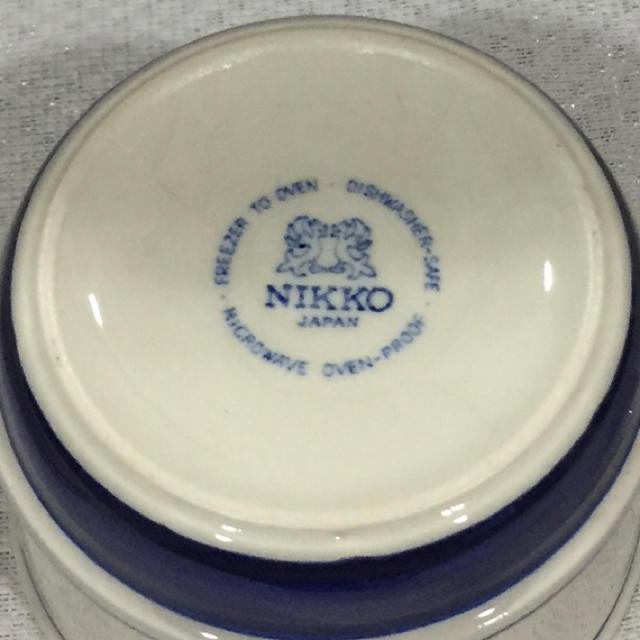 NIKKO(ニッコー)のNIKKO/カップ&ソーサー エンタメ/ホビーの美術品/アンティーク(陶芸)の商品写真