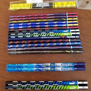 プーマ(PUMA)の鉛筆セット17本+2本(PUMA、mizuno、サッカー)(鉛筆)