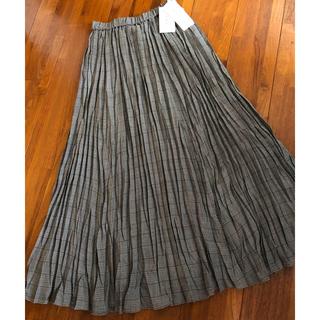 ミラオーウェン(Mila Owen)の《新品タグ付き》ミラオーウェン ウールワッシャーロングスカート(ロングスカート)