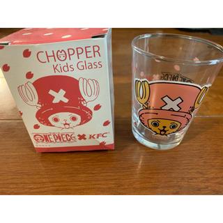 シュウエイシャ(集英社)のワンピース チョッパー グラス ケンタッキー景品(グラス/カップ)
