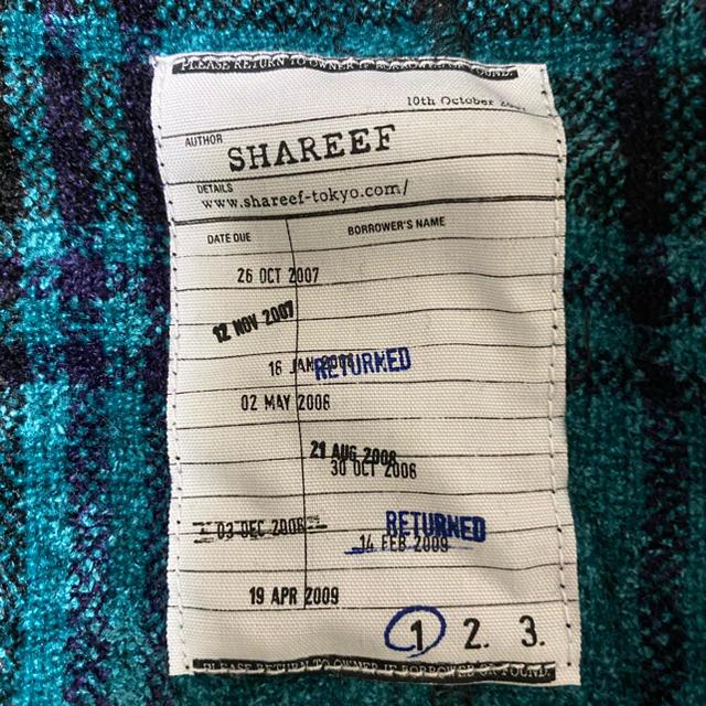 SHAREEF(シャリーフ)のSHAREEF MOLE CHECK DOLMAN SHIRTS メンズのトップス(Tシャツ/カットソー(半袖/袖なし))の商品写真