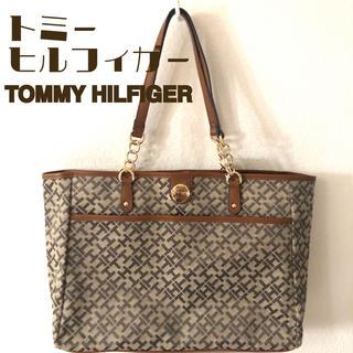 トミーヒルフィガー(TOMMY HILFIGER)の トミー ヒルフィガー チェーン ショルダー ビッグ トートバッグ ブランド新品(トートバッグ)