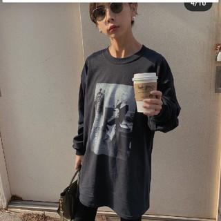 アメリヴィンテージ(Ameri VINTAGE)のアメリヴィンテージ マリリンロングTシャツ本日限定値下げ‼️今季完売商品(Tシャツ(長袖/七分))